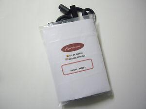 Star trek 25th anniversary pinball black rubber kit-kit rubbers