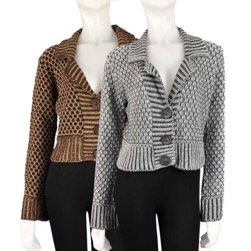 Frauen Strickjacke M Bolero Jacke von QED London Damen Jäckchen S NEU L