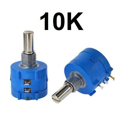Poti  Potenziometer  Potentiometer logarithmisch stereo  R16 10K NEW #WP 10 pcs
