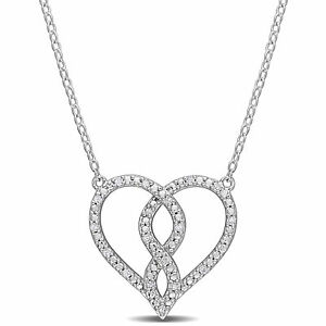 Amour-Diamond-Heart-Pendant-with-Chain-in-Sterling-Silver
