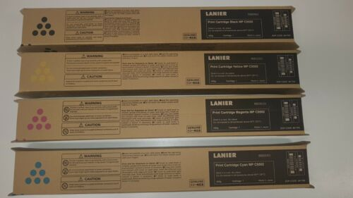 Lanier Ricoh Black & Colour Print Toner Cartridges C5502