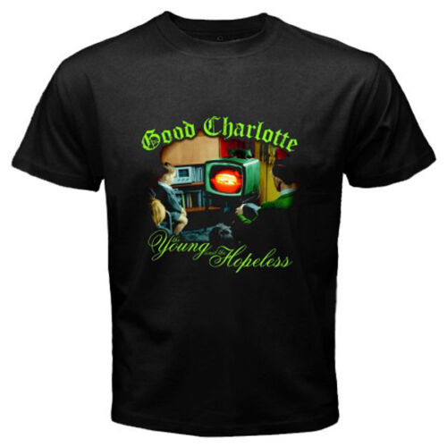 Good Charlotte *Young and Hopeless Punk Band Men/'s Black T-Shirt Size S to 3XL