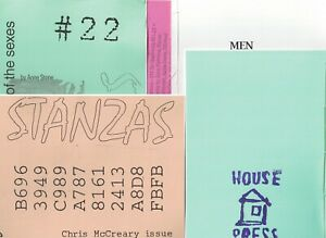 HOUSE PRESS: COLLECTION OF 15 VOLUMES - CONCRETE VISUAL POETRY - CANADA 2000