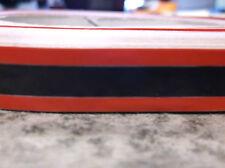 """NOS 1' FOOT US MARINE BAYLINER ARRIVA 1/2"""" RED BLACK RED LOWER DECK TAPE 37352"""