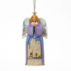Jim-RIVA-NATALE-ANGEL-W-Cathedral-SCENE-Ornamento-da-appendere-4042973