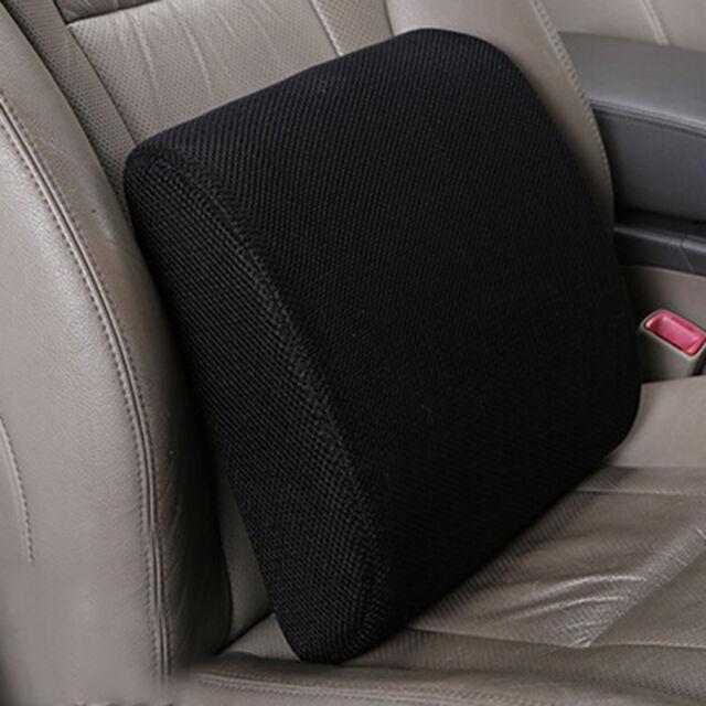 Memory Foam Lumbar Back Support Cushion Pillow For Home Car Chair