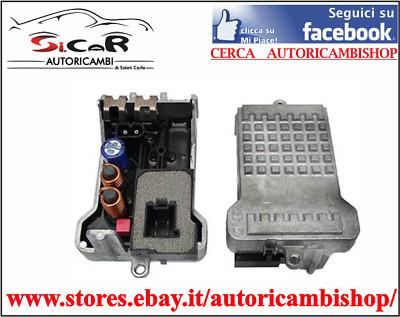 Resistenza Ventola Riscaldamento Aria Citroen C3 Peugeot Partner 2005 Manuale