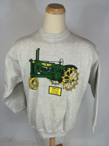 NOS ViNtAgE Antique John Deere Tractor SwEaTsHiRt