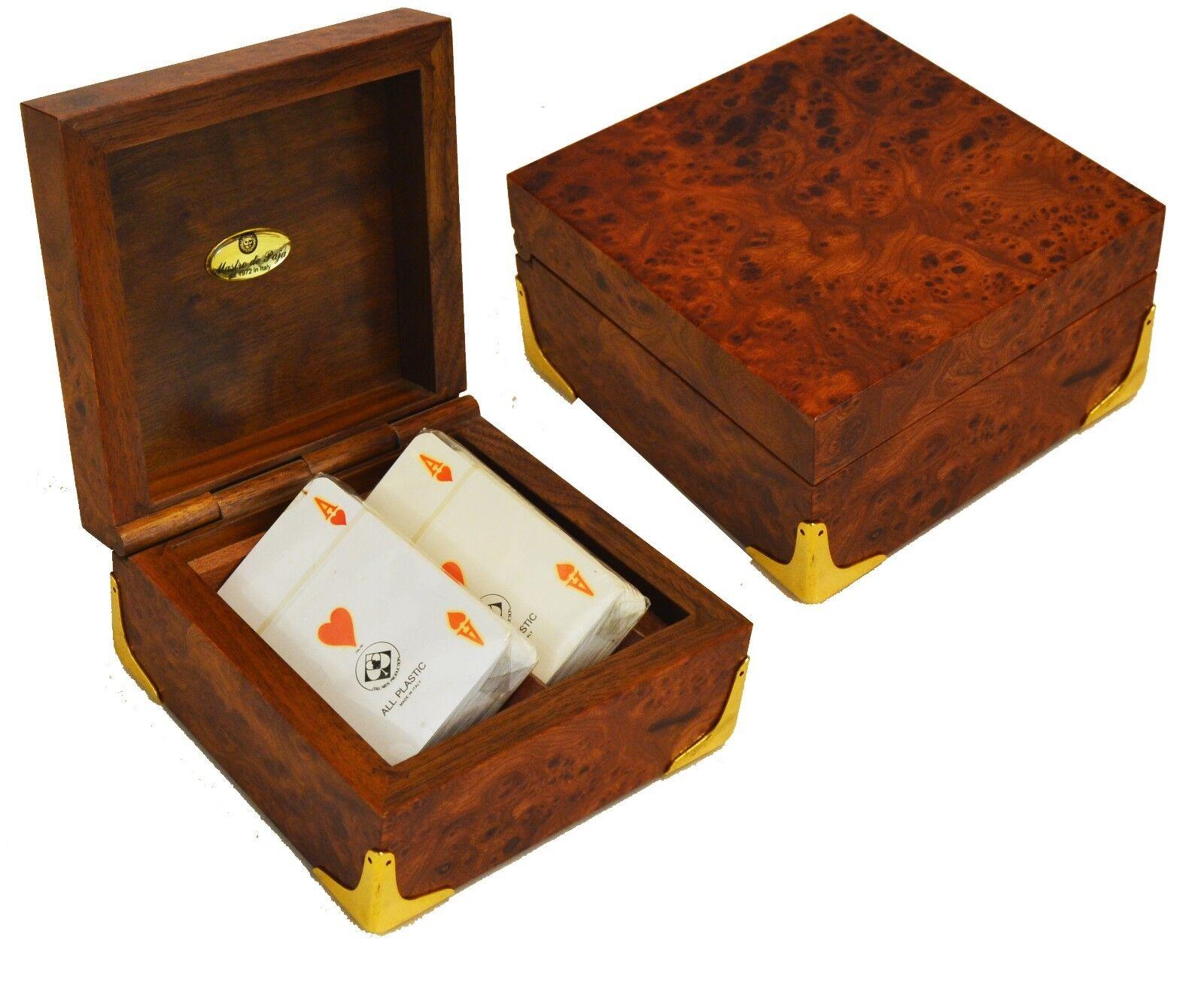 COFANETTO DA CARTE - BOX FOR CARDS