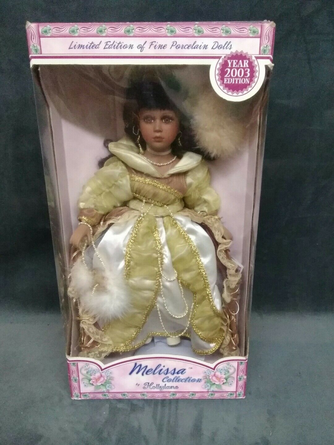 Melissa Collection-edición limitada de muñecas de porcelana fina 2003 por hollylane