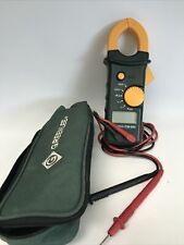 Greenlee Cm 600 Clamp Meter With Case Amp Leads Working