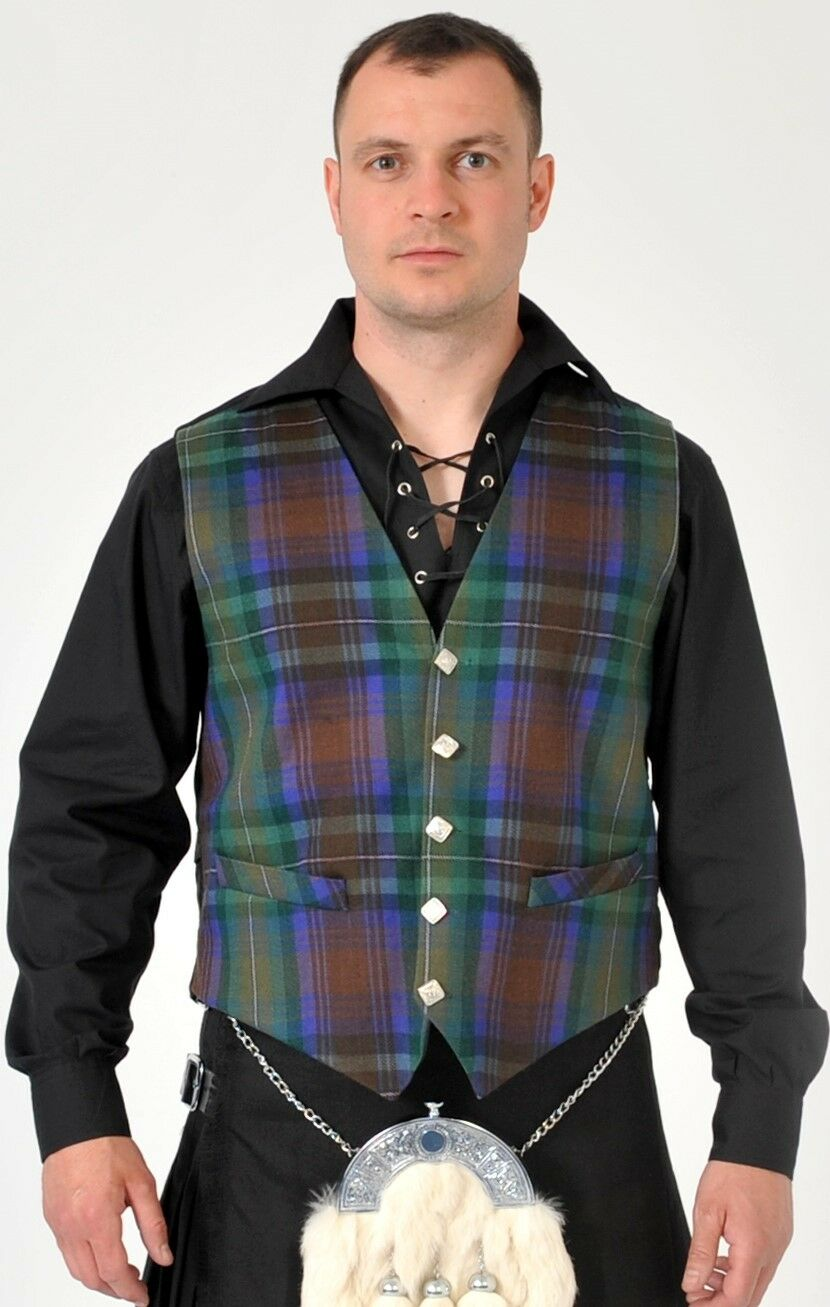 Isle Of Skye tartan waistcoat vest 4 Kilts REDUCED to clear