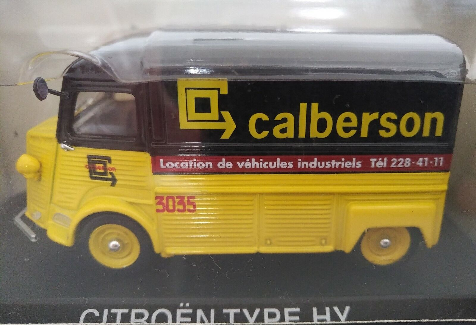 CITROEN TYPE H HY CALBERSON RARE NOREV 1 43 TUB TUBE CAMIONNETTE