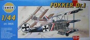 +++ Fokker Dr. I + échelle 1:44 Kit By Smer +++-afficher Le Titre D'origine Demande DéPassant L'Offre