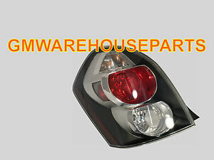 Image Is Loading 2009 2010 Pontiac Vibe Drivers Side Tail Light