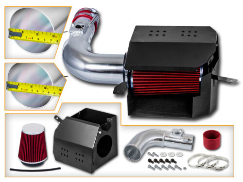 BCP RED For 13-18 Scion FR-S BR-Z 86 2.0 H4 COLD SHIELD AIR INTAKE KIT FILTER