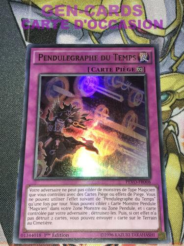 OCCASION Carte Yu Gi Oh PENDULEGRAPHE DU TEMPS PEVO-FR008 1ère édition