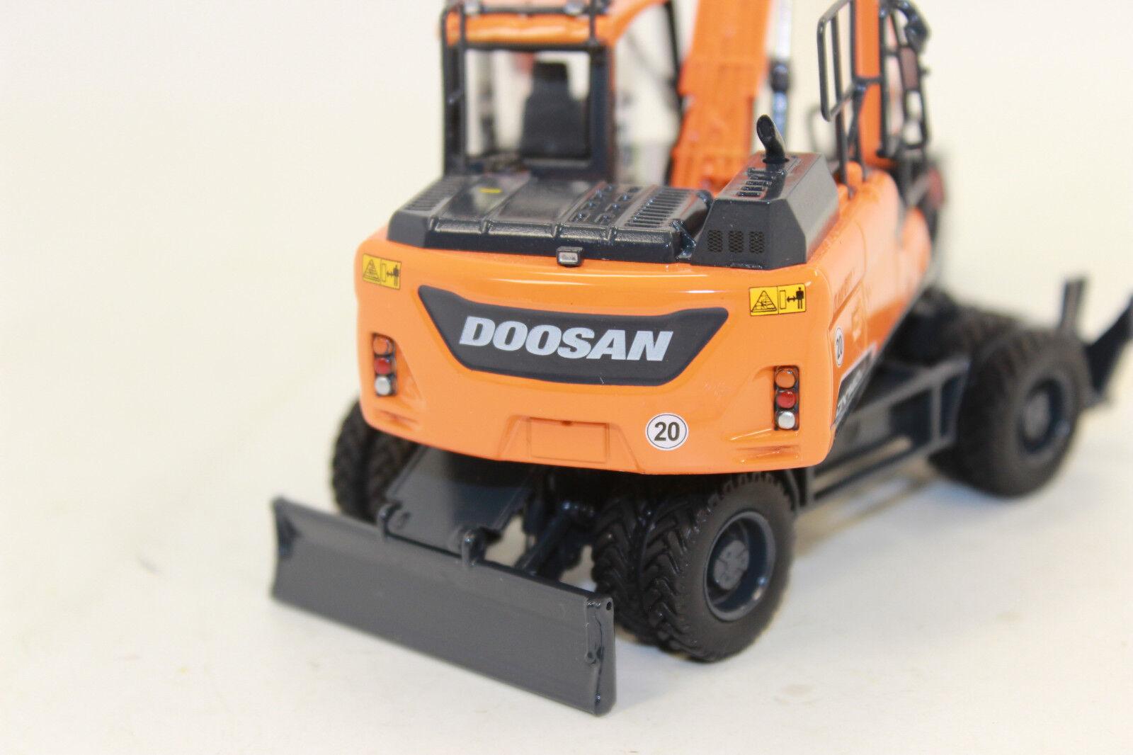 UH 8108 Doosan Escavatore mobile DX 140 W 1 50 NUOVO IN SCATOLA ORIGINALE