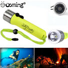 CREE 2000LM XM-L T6 LED Scuba Diving Flashlight