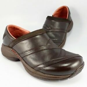 fd135cd3 Details about Merrell PRIMO PATCH Mocs Womens Size 6.5M Brown Leather  Slip-On Loafer Moccasins