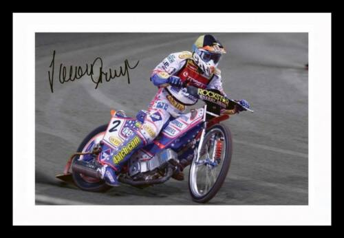 JASON CRUMP AUTOGRAPHED SIGNED /& FRAMED PP POSTER PHOTO