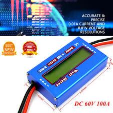"RC Electronics Inc /""Watt/'s Up/"" WU100 DC Watt meter and Power Analyzer Blue"