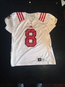 hot sales 81bda 38d89 Game Worn Used Louisville Cardinals UL Football Jersey ...