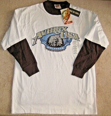 Aeropostale Authentic fit T-shirt.S,M,L.NWT.100/%Cotton.Tattoo style Long Sleeve
