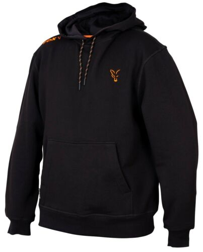 Fox Collection Black And Orange Hoody NEW Fishing Hoodie *All Sizes*