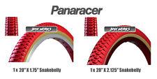 "Panaracer NTKK Snakebelly Tyres Red 20"" x 1.75"" & 20"" x 2.125"" - Old School BMX"