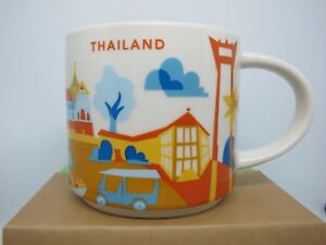starbucks mug yah you are here thailand 14oz collector series free tracking ebay. Black Bedroom Furniture Sets. Home Design Ideas