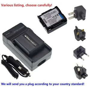 Battery Charger for Hitachi DZ-GX5020E DZ-GX5060E Camcorder DZ-GX5040E