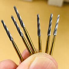 6 Pc Dental Zekrya Tungsten Carbide Bone Cutters Surgical Fg Bur 28mm High Speed