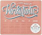 I Am Not a Workaholic (notepad and Mouse Pad) 54 Sheets 6 Designs by Hom Lau