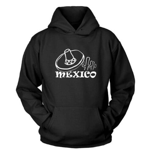 Messico con Cappuccio Pullover