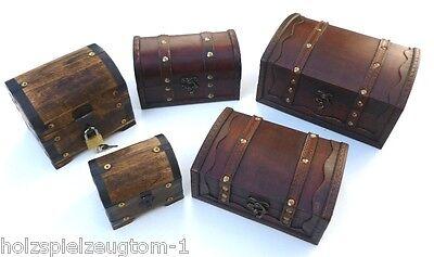 Schatzkiste Holzkiste Holzbox  Holztruhe Truhe Schatztruhe