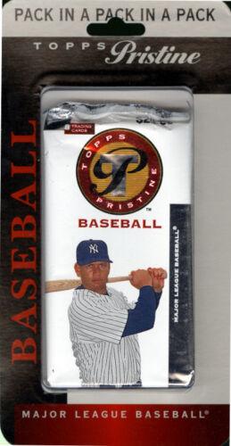 2005 Topps Pristine Baseball Blister Pack FACTORY SEALED