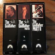 The Godfather Trilogy VHS