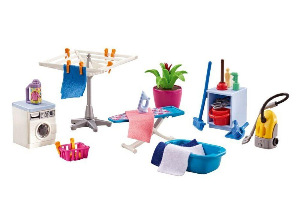 Yrts 6557 Playmobil Lavadero Cuarto De Limpieza ¡nuevo En Bolsa! ¡new!