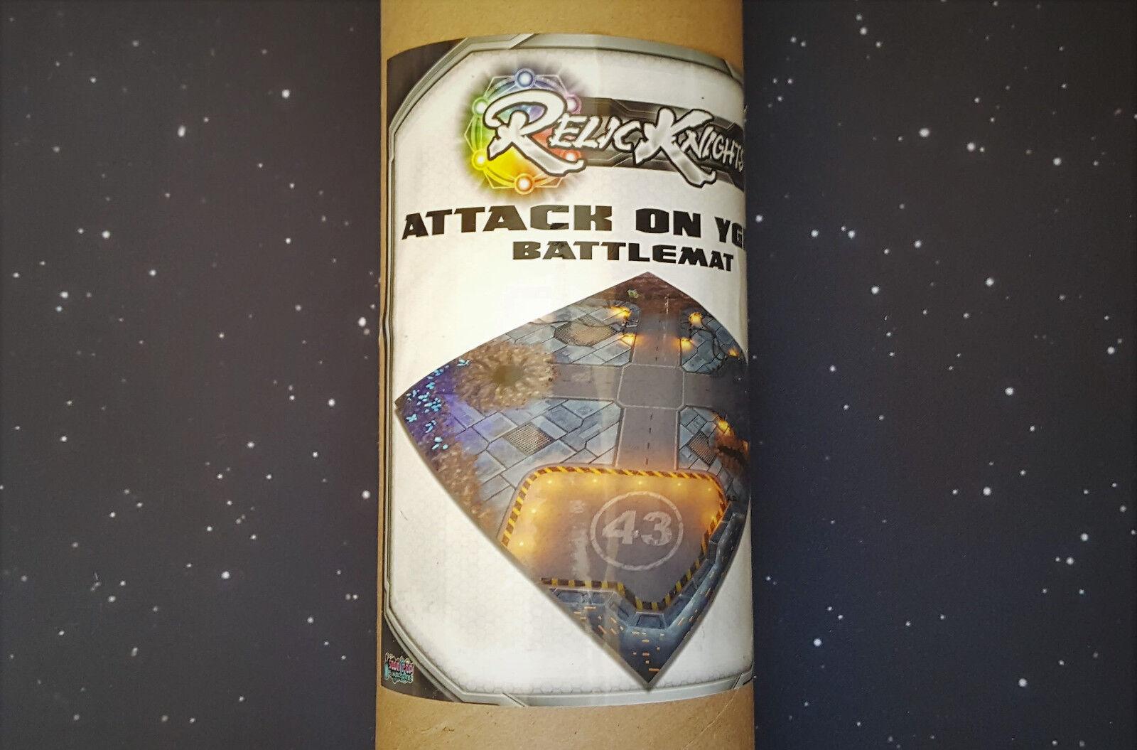 Relic Knights KickEstrellater Alfombra Battlemat Sci-fi terreno Set Infinity Limited