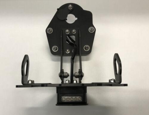 Bruudt Support de plaque d/'immatriculation heckumbau réglable tail tidy pour YAMAHA mt10 MT 10