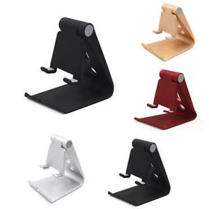 Tablet-STAND-SUPPORTO-TAVOLO-PIEGHEVOLE-Desktop-Holder-Multi-Angolo-iPad-Cellulare