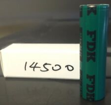 Brand New FDK  HR-AAU 14500 1650mah AA 1.2V Ni-MH Rechargeable Battery