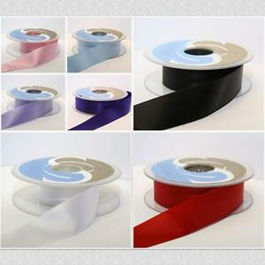 Ruban-Satin-Double-Face-25mm-vendu-par-metre