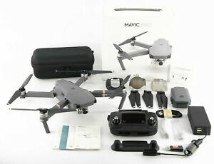 4K-DJI-Mavic-Pro-Quadcopter-Remote-Controller-2x-Batteries-Case-Accessories