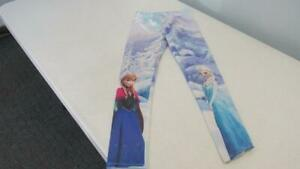 Disney-Frozen-Character-Leggings-Size-7-EUC-TL55