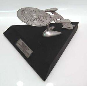STAR-TREK-ENTERPRISE-NCC-1701-D-Pewter-LIMITED-EDITION