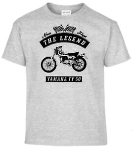 T-Shirt-Yamaha-TY-50-Motorrad-Bike-Oldtimer-Youngtimer