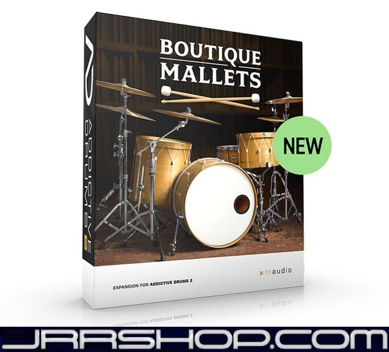 XLN Audio Addictive Drums 2  Boutique Mallets eDelivery JRR Shop