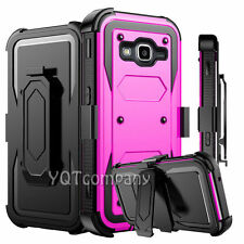 For Samsung Galaxy J3/J7 J700 J710 Clip Holster Stand Case Cover W/ Accessories